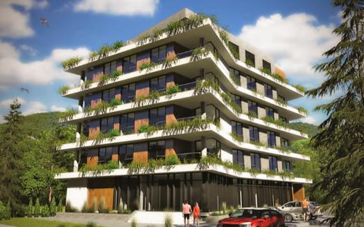 luxury building under construction tivat