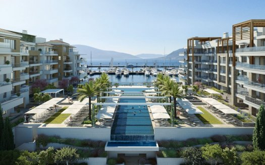 baia regent pool residences tivat