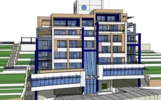 herceg novi land with planning