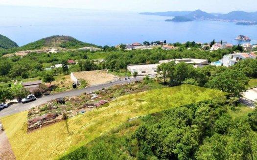 construction land for house budva suburbs