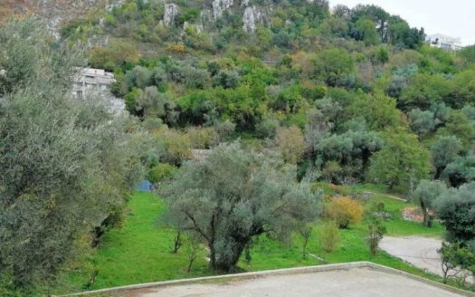 budva surroundings land with planning